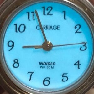 Vintage Carriage by Timex Indiglo Womans watch